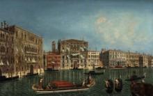 ольшой канал, Венеция, Палаццо Фоскари  и Палаццо Бальби - Мариеши, Мишель