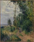 Гора Груте, около Понтуаза, 1878 - Писсарро, Камиль
