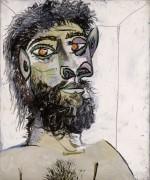 Портрет бородатого мужчины - Пикассо, Пабло