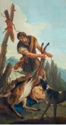 Охотник с добытым оленем - Тьеполо, Джованни Баттиста