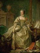 Маркиза де Помпадур, метресса Людовика XV - Буше, Франсуа
