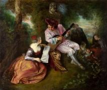 Песня любви - Ватто, Жан Антуан