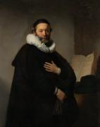Портрет ремонстранта Яна Втенбогарта - Рембрандт, Харменс ван Рейн