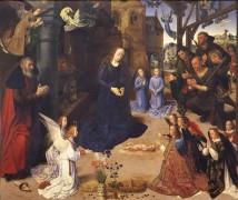 Алтарь Портинари: поклонение пастухов - Гус, Хуго ван дер