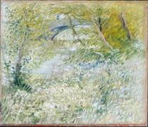 Берега Сены весной (Banks of the Seine with the Pont de Clichy in the Spring), 1887 - Гог, Винсент ван