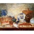 Натюрморт с ракушками и омарами, 1898 - Энсор, Джеймс