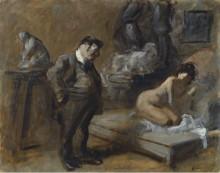 Студия художника, 1910 -  Форен, Жан-Луи