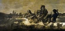 Атропос или Судьба (черные картины) - Гойя, Франсиско Хосе де