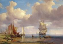 Штиль в море - Волльмер, Адольф