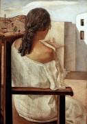 Молодая женщина, увиденная со спины - Дали, Сальвадор