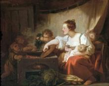 Небогатое семейство - Фрагонар, Жан Оноре