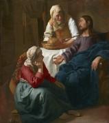 Христос в доме Марфы и Марии - Вермеер, Ян