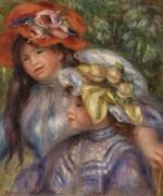 Две девочки - Ренуар, Пьер Огюст