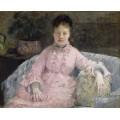 Розовое платье - Моризо, Берта