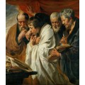 Четыре евангелиста - Йорданс, Якоб