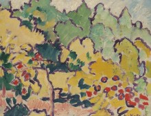 Пейзаж с садом - Вальта, Луи