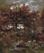Осень в лесу Фонтенбло - Руссо, Теодор
