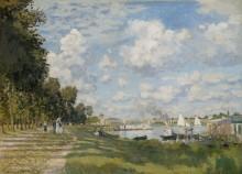 Порт в Аржантее, 1872 - Моне, Клод