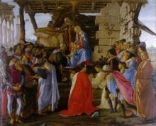 Поклонение волхвов - Боттичелли, Сандро