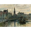 Мост в Амстердаме, 1874 - Моне, Клод
