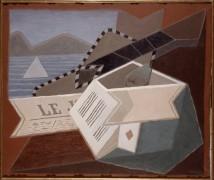 Гитара на фоне моря - Грис, Хуан