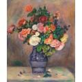 Цветы в вазе - Ренуар, Пьер Огюст