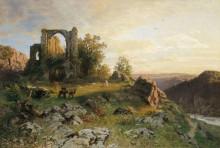 Пейзаж с руинами - Дарнау, Хуго