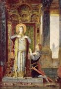 Святая Елизавета Венгерская и чудо с розой - Моро, Гюстав