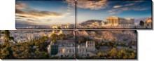 Вид на акрополь - Сток