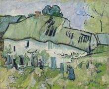 Ферма с двумя фигурами (Farmhouse with Two Figures), 1890 - Гог, Винсент ван