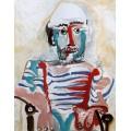 Автопортрет, 1965 - Пикассо, Пабло
