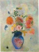 Большая ваза с цветами - Редон, Одилон