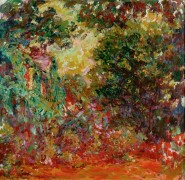 Дом художника, вид из розового сада - Моне, Клод