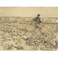 Сеятель (The Sower), 1888 - Гог, Винсент ван