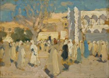 Арабский рынок (рынок  пустыни) - Фокс, Эмануэль Филлипс