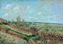 Весна в Сен-Жермен-ан-Лэ - Сислей, Альфред