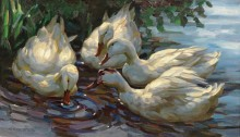 Четыре утки в пруду - Кёстер, Александер