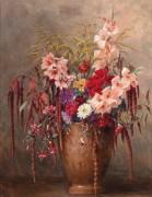 Летние цветы в вазе - Гёбль-Валь, Камилла