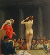 Римский рынок рабов - Жером, Жан-Леон