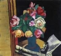 Натюрморт с розами - Бекман, Макс