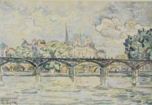 Париж, мост искусств - Синьяк, Поль