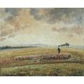 Пейзаж с стадом баранов, 1902 - Писсарро, Камиль