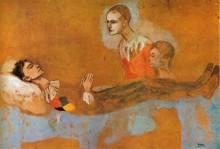 Смерть Арлекина, 1906 - Пикассо, Пабло