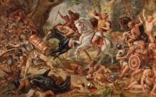 Сражение в Тевтобургском лесу между римлянами и германскими племенами - Майер-Вальдек, Кунц
