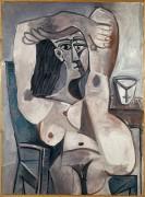 Жаклина с поднятыми руками - Пикассо, Пабло