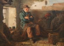 Рыбак со своими сетями - Лэнгли, Уолтер