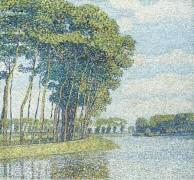 Деревья у канала - Баум, Пауль