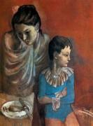 Мать и ребенок, странствующие артисты, 1905 - Пикассо, Пабло