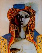 Жаклин в турецком костюме, 1955 - Пикассо, Пабло