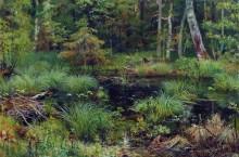 Родник в лесу, 1892 - Шишкин, Иван Иванович